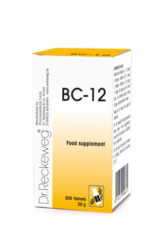 Schuessler BC12 combination cell salt - tissue salt